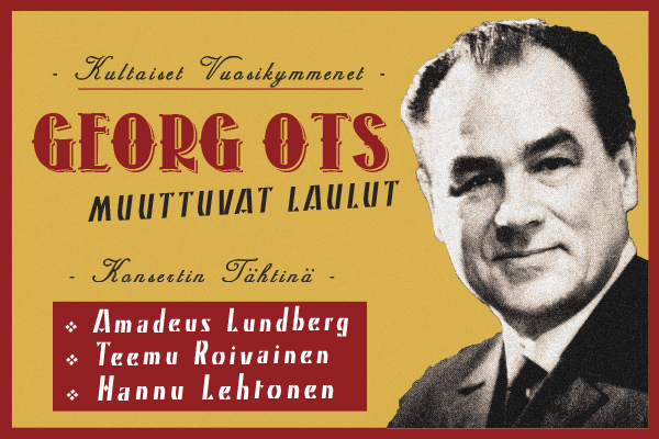 Georg Ots - Muuttuvat laulut