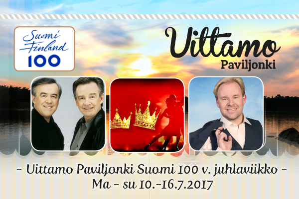 Uittamo Paviljongin Suomi 100 v. -juhlaviikko