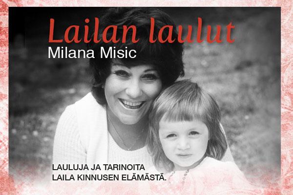 Lailan laulut, Milana Misic, konsertti, Uittamo 2019